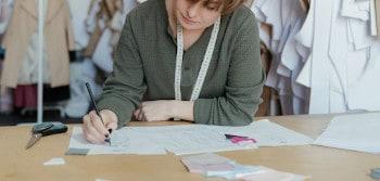 Patroontekenen leren bij naai-atelier Zie onze modules